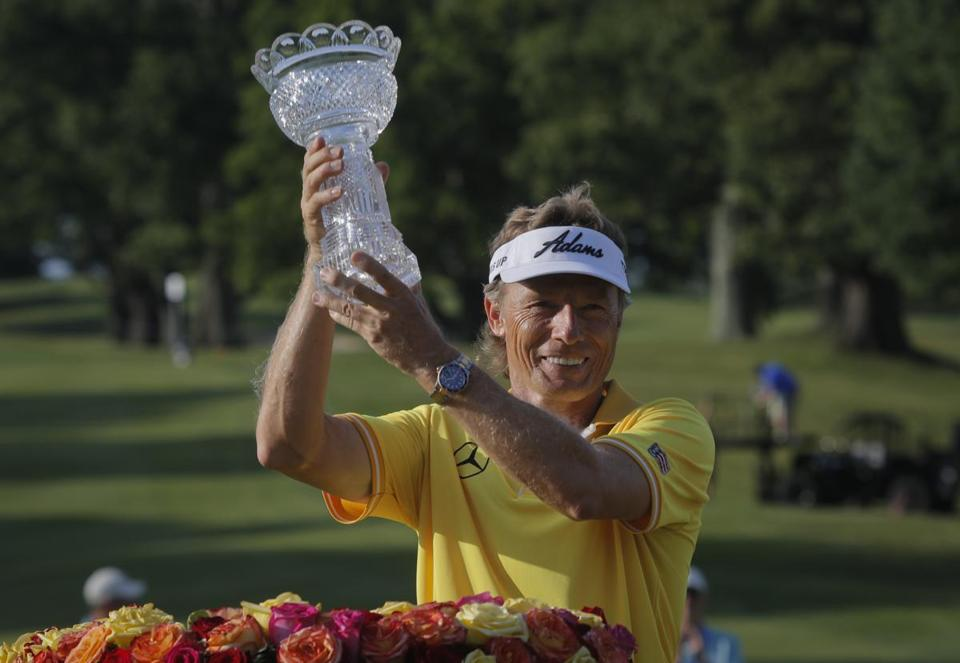 Artificial Grass - Bernhard Langer Triumph at Belmont. Magic Week.