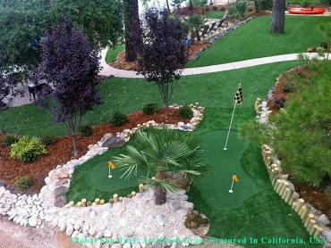 Artificial Turf Installation Modesto, California How To Build A Putting Green, Beautiful Backyards artificial grass
