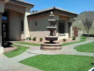 Artificial Grass Photos: Grass Turf Ceres, California Landscape Rock, Front Yard Landscaping