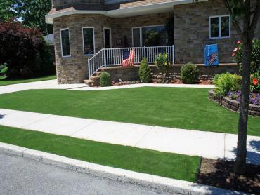 Artificial Grass Photos: Lawn Services Modesto, California Lawns, Front Yard Landscaping