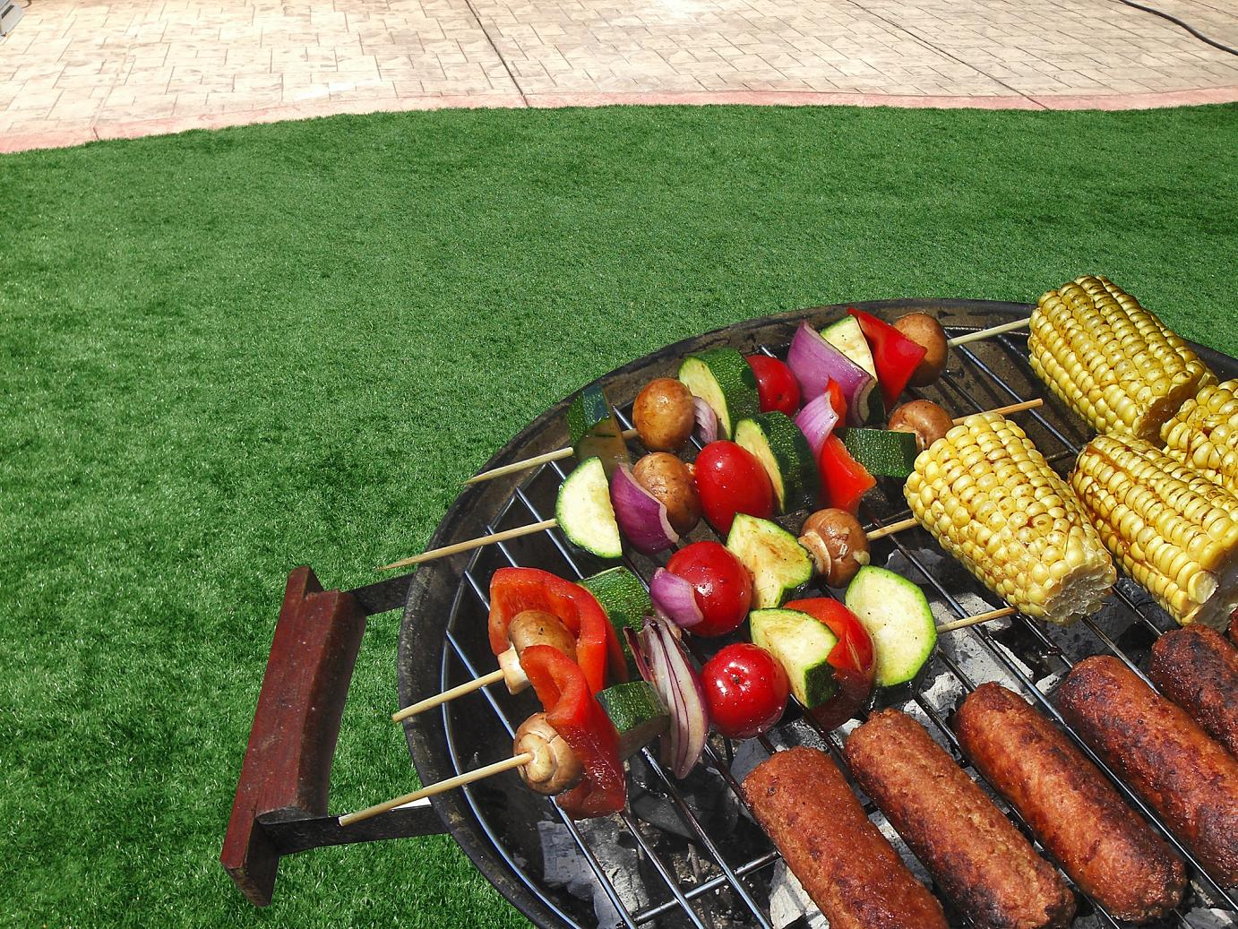 Artificial Grass - Time for a Barbeque!